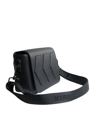 EMBLEM SLING BAG | BLACK ON BLACK