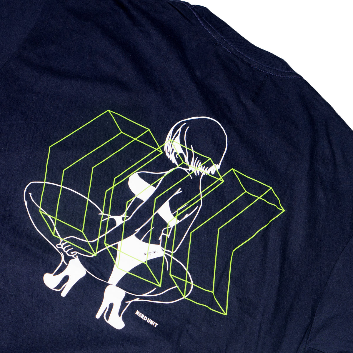 HAPPY ENDING TEE (NAVY)
