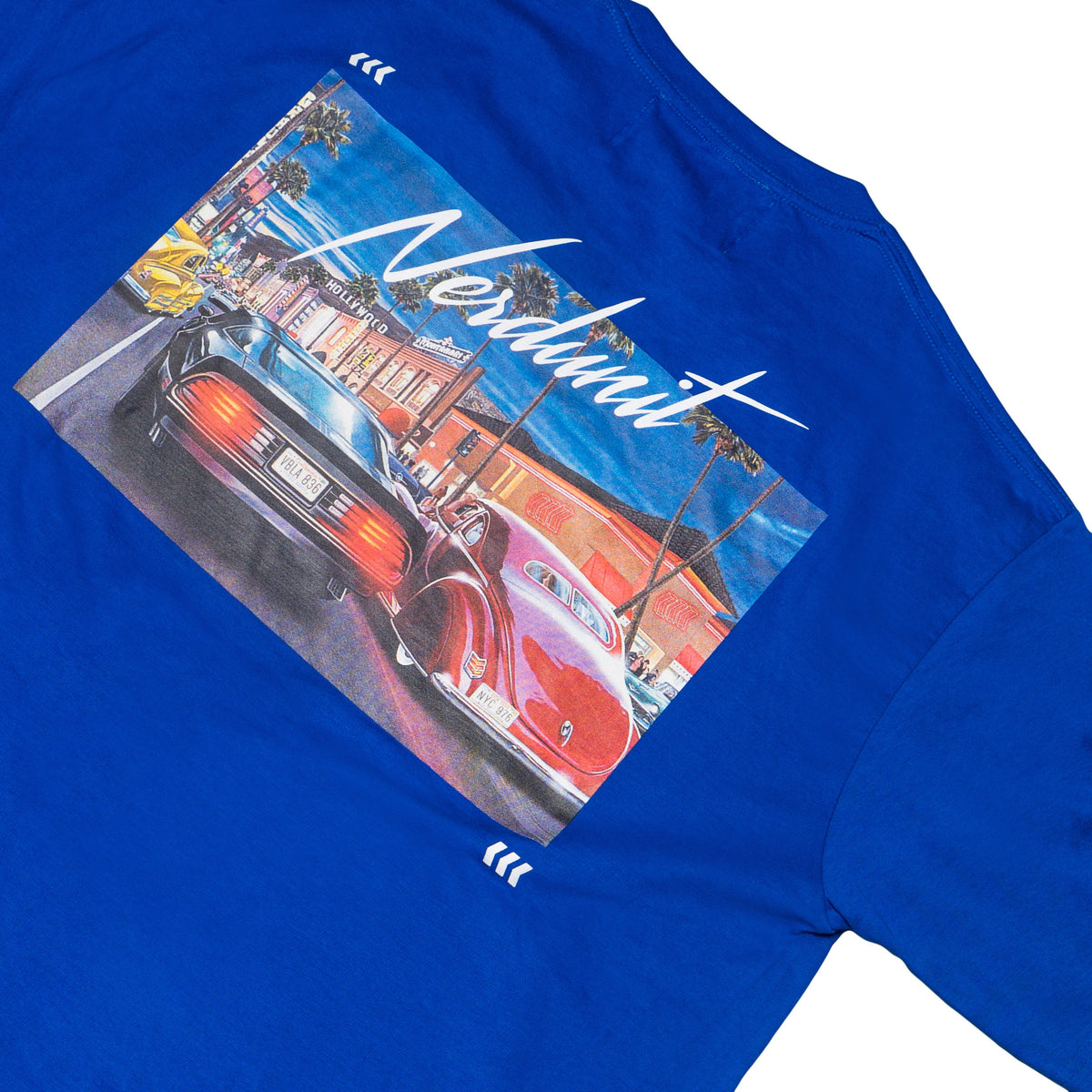 OLD SCHOOL GRAPHIC TEE (ROYAL BLUE)