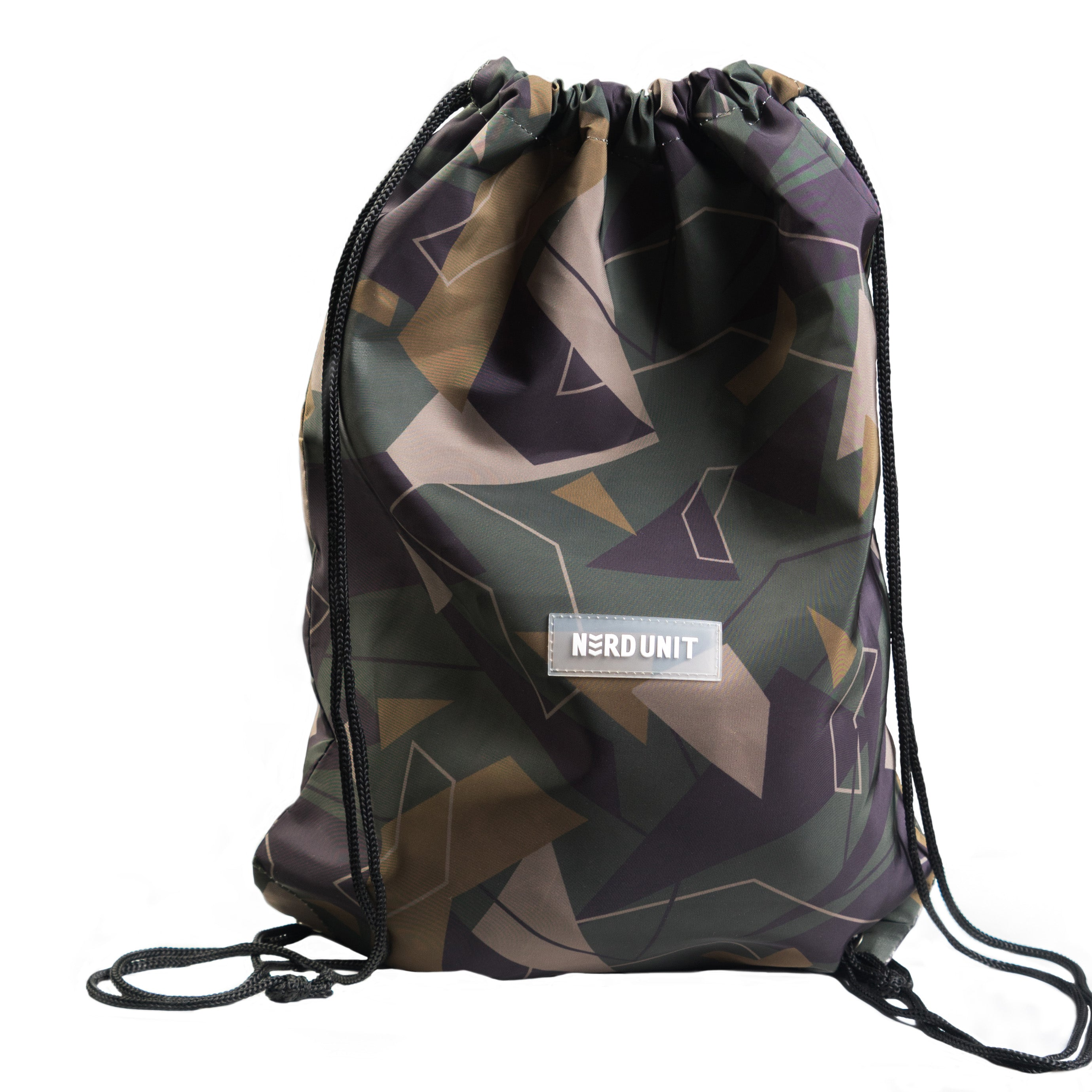 1ST CAMO DRAWSTRING BAG