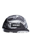 MF ALL OVER PRINT CAMP CAP | BLACK WHITE