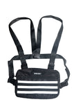 REFLECTIVE CHEST RIG | BLACK