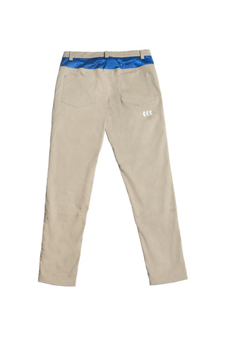 ORIENTAL CHINO PANTS | KHAKI & BLUE