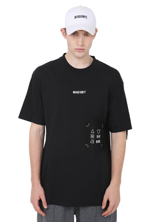 INSTRUCTIONS TEE | BLACK