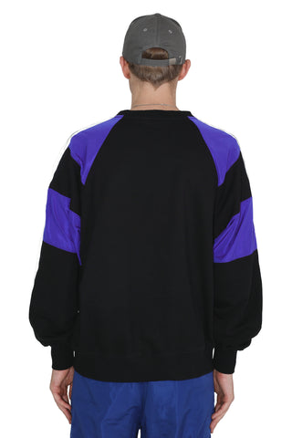 ROYAL REFLECTIVE SWEATER | BLACK