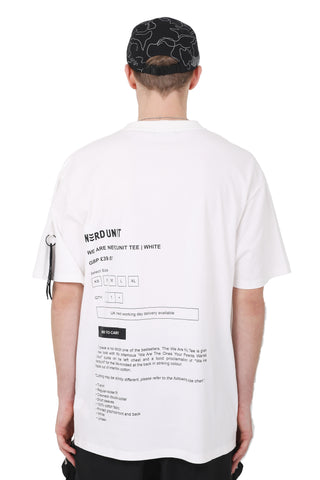 ADD CART TEE | WHITE