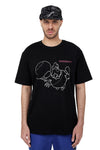 FLYING CHICKEN TEE | BLACK