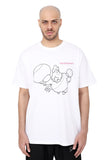 FLYING CHICKEN TEE | WHITE