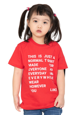 """NORM JR"" KIDS TEE 