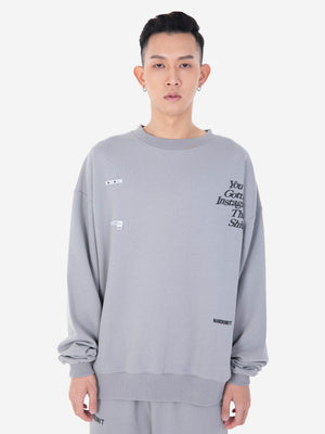 """IG SWEAT"" SWEATER 