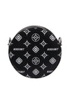 MONOGRAM ROUND BAG | BLACK