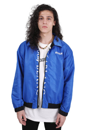 REVERSIBLE INCONVERSATION JACKET | BLUE