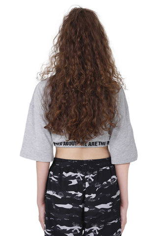 TAPE CROP TOP | MELANGE