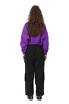 TRACK IT CROP JACKET | PURPLE