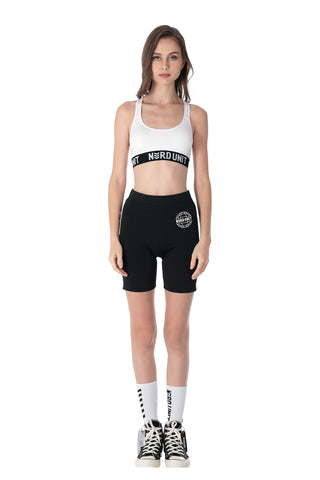 GLOBE BICYCLE SHORTS | BLACK