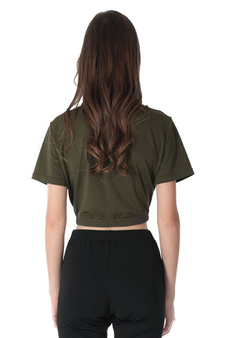 ACTIVE CROP TOP | GREEN