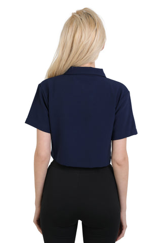 """CONSTRUCTION"" CROPPED SHIRT 