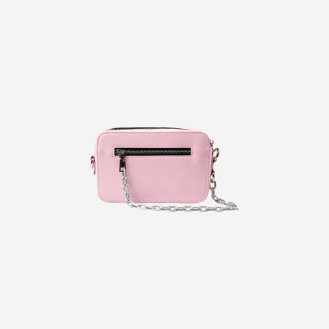 """EMBLEM"" CHAINED BAG 