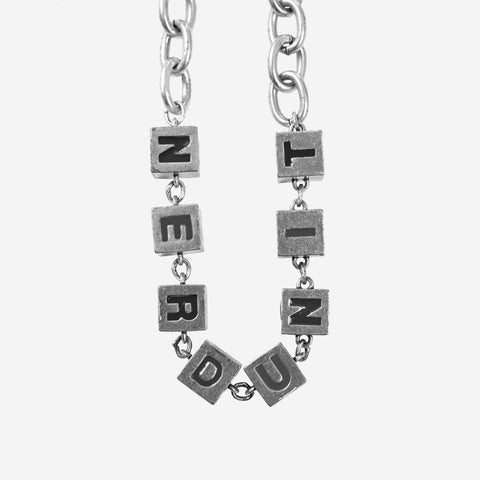 ALPHABETS NECKLACE | SILVER