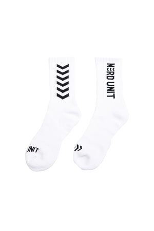 EMBLEM LOGO SOCKS | WHITE