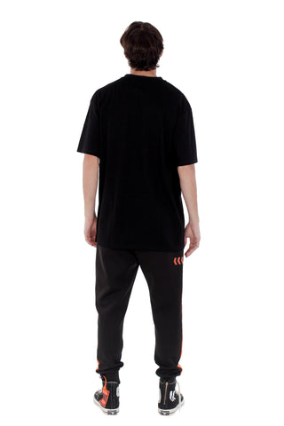 MOTION PATCH TEE | BLACK