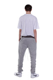 SS18 ANKLE ZIP TRACK PANTS | GRAY