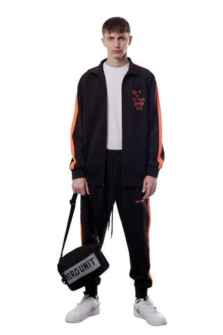 WE ARE NU TRACK JACKET | BLACK - SALES