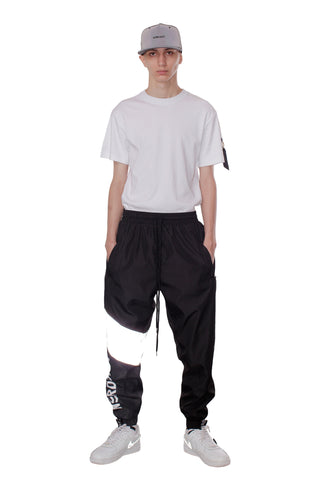 REFLECTIVE WINDBREAKER PANTS | GRAY