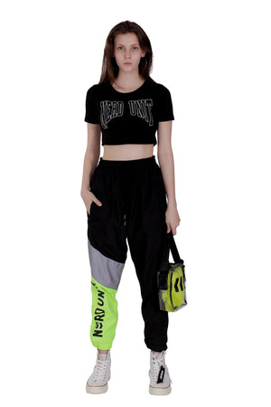 SS18 FEMALE CROP TOP | BLACK