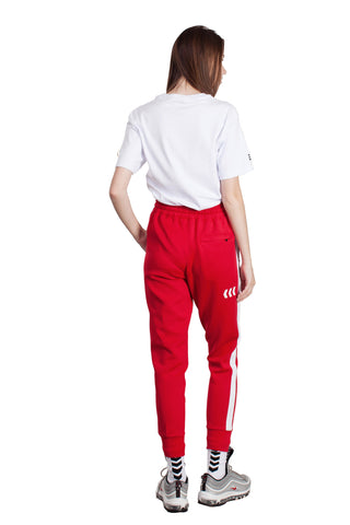 WE ARE NU TRACK PANTS | RED - SALES