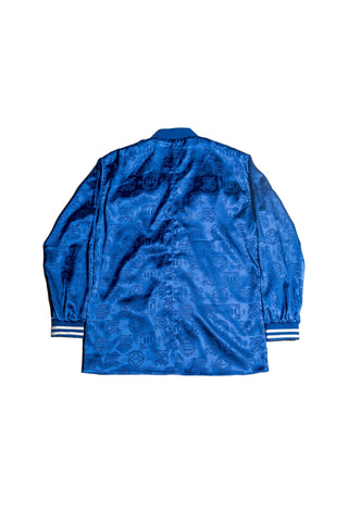 ORIENTAL JACQUARD JACKET | BLUE - SALES
