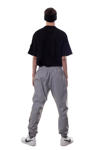 REFLECTIVE JOGGER PANTS | GRAY - SALES