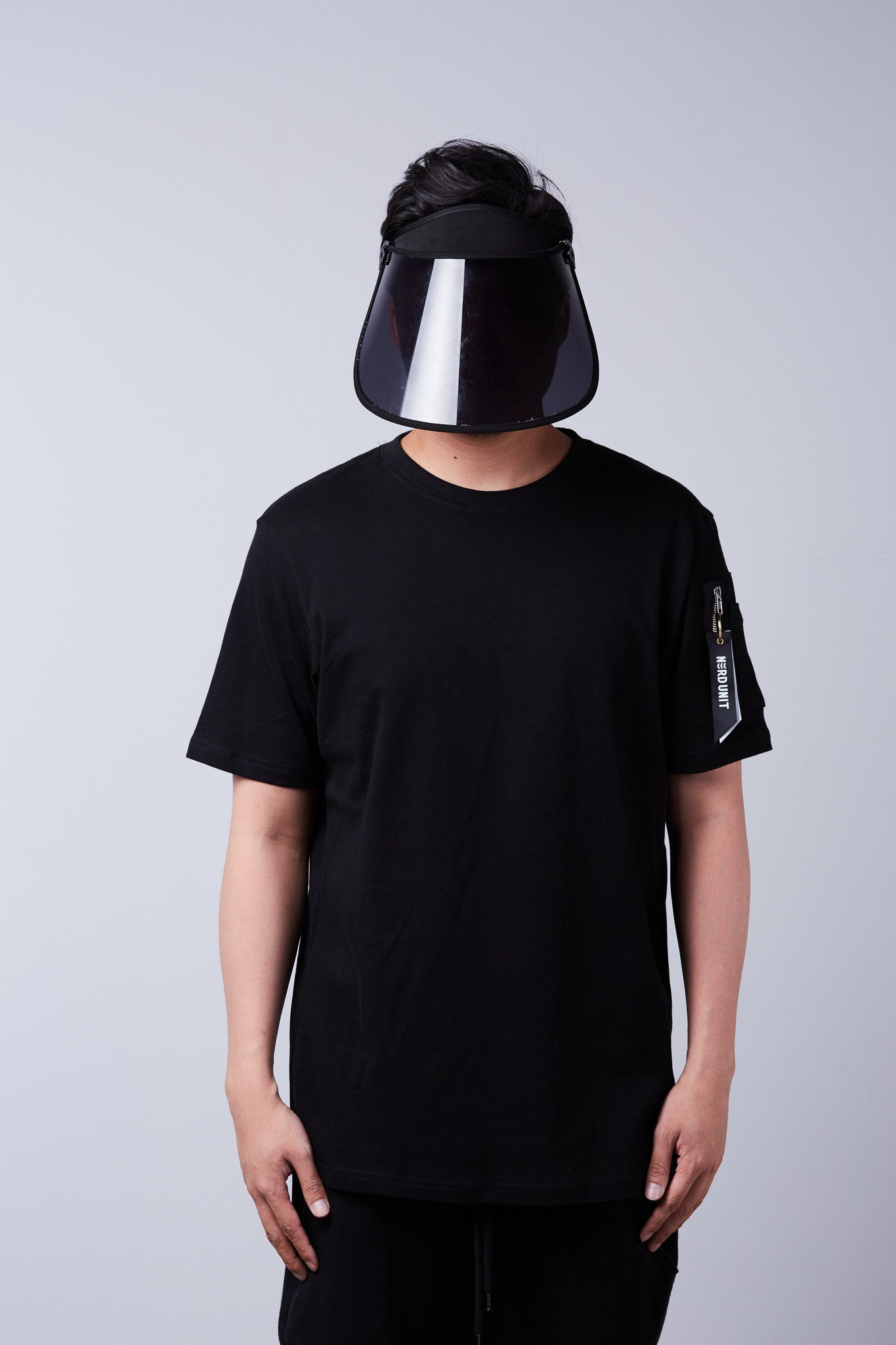 Nerdunit Just Basic Flight Tee - Black
