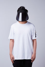 Nerdunit Just Basic Flight Tee - White