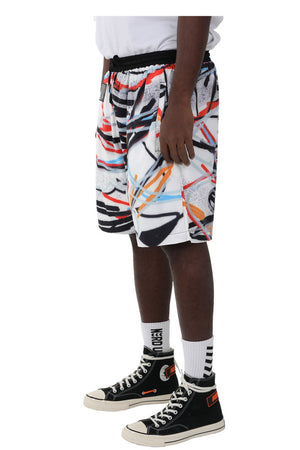 """SCRIBBLES"" SHORTS 