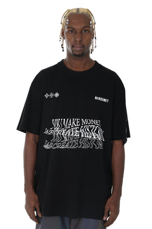 """BLURRED"" TEE 