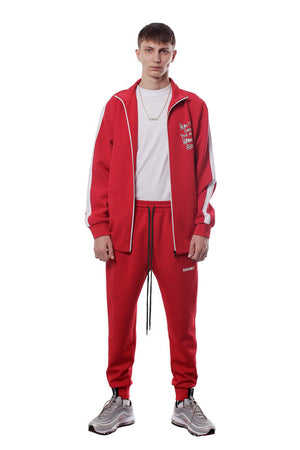 WE ARE NU TRACK JACKET | RED - SALES
