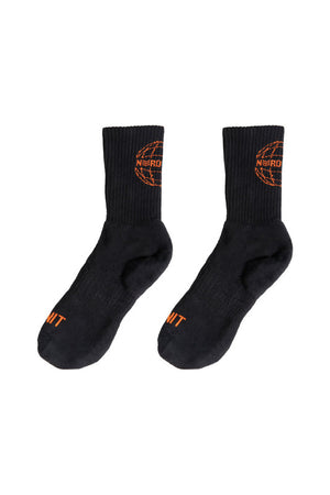 GLOBE SOCKS | BLACK