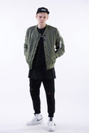 Nerdunit MA1 Jacket - Army Green