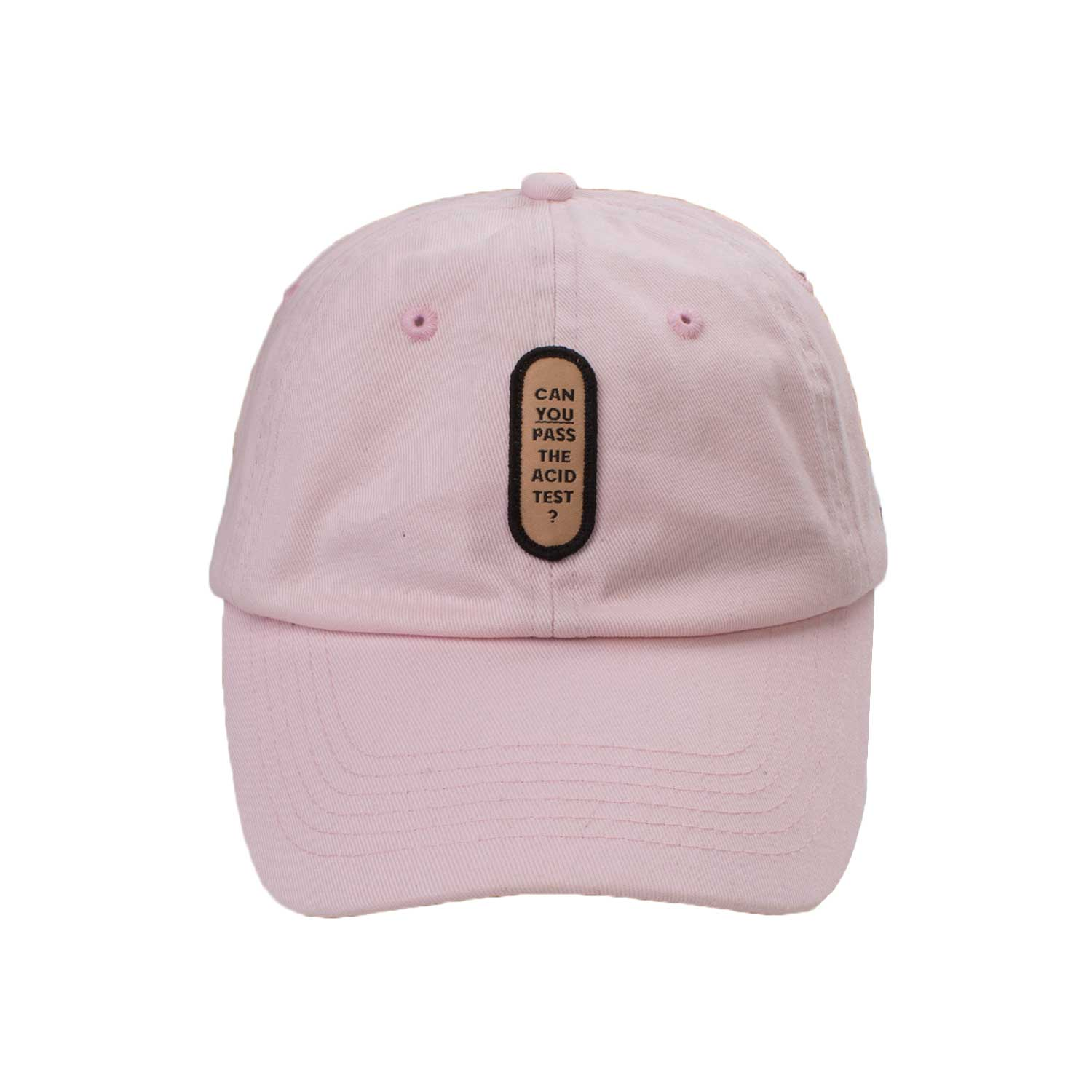 Acid Test Dad Cap (Pink)
