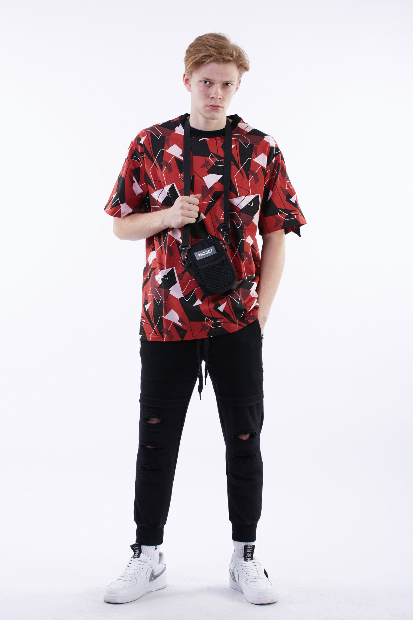 Red Camo T-Shirt (Red)