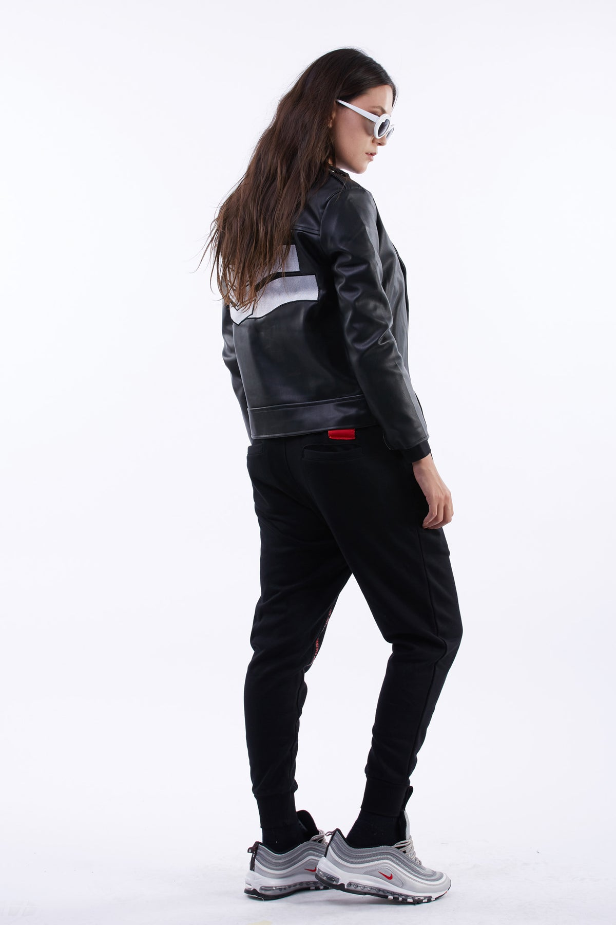 Riot or Die Biker Jacket (Black)