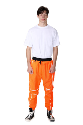 REFLECTIVE LINING JOGGER PANTS | ORANGE