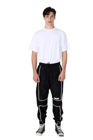 REFLECTIVE LINING JOGGER PANTS | BLACK