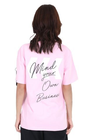 OWN BUSINESS TEE | PINK