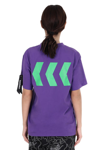 BASIC EMBLEM TEE | PURPLE