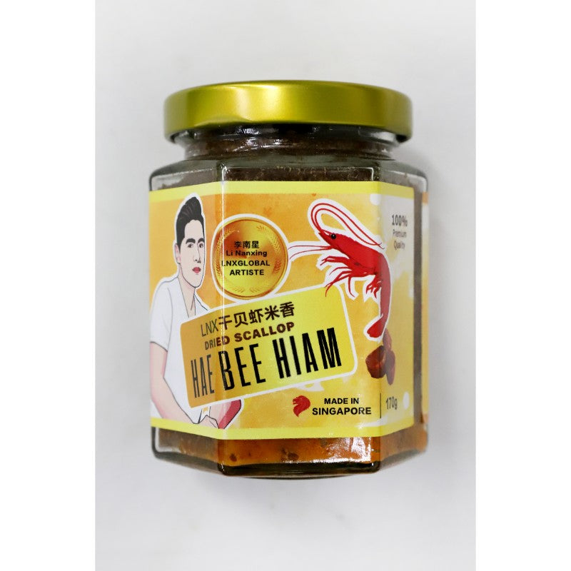 LEE NAN XING DRIED SCALLOP HAE BEE HIAM (YELLOW) - 170GM