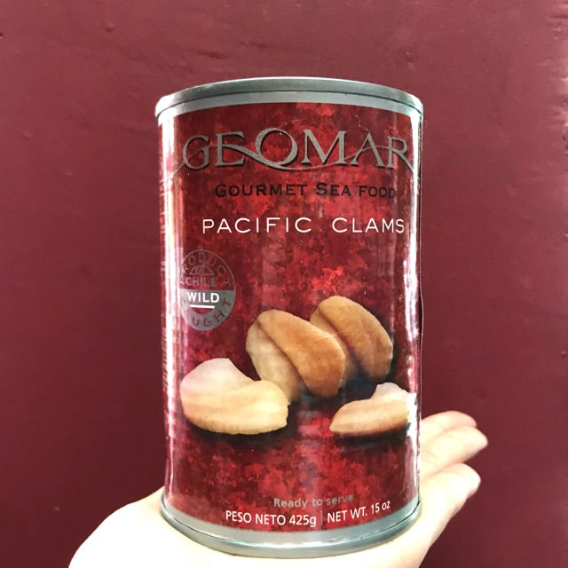 CANNED GEOMAR PACIFIC CLAMS - 425GM