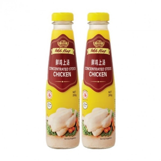 WOH HUP Concentrated Stock Chicken Twin Pack (2 X 265GM)