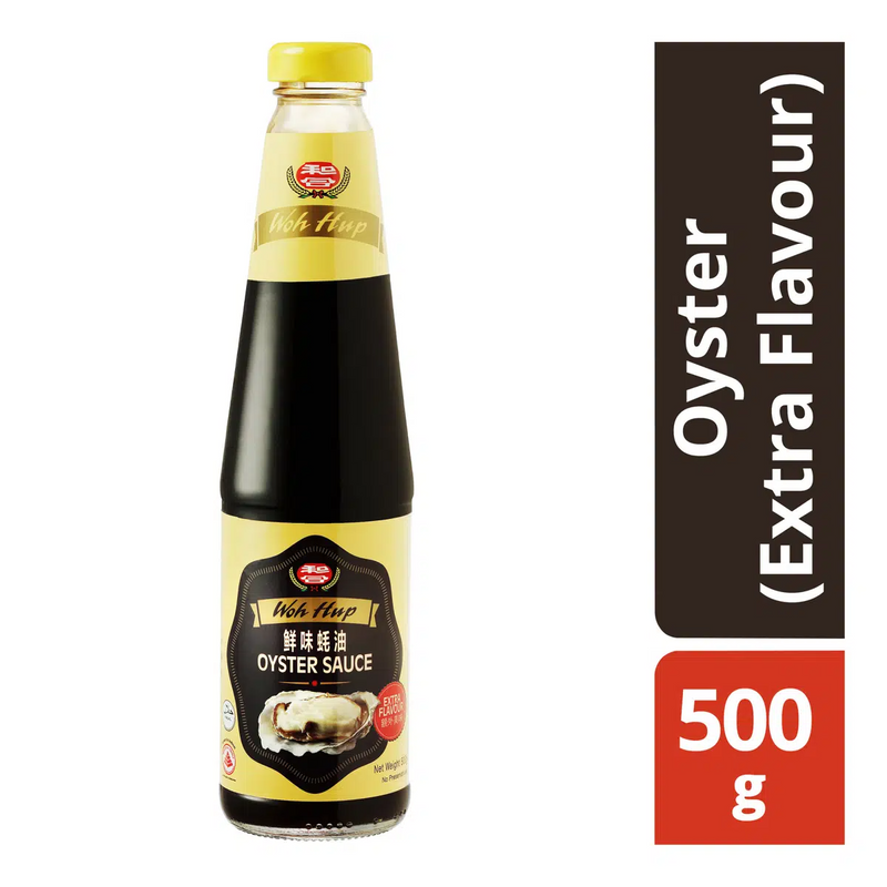WOH HUP Oyster Sauce Extra Flavour Twin Pack (2 x 500GM)